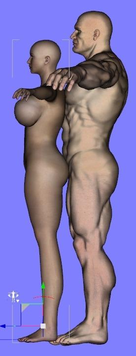 20140409_D  Create3D カーブの押し出しで髪を作る【Autodesk Maya 2014】0521