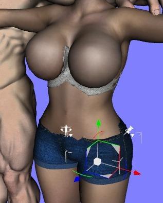 20140409_D  Create3D カーブの押し出しで髪を作る【Autodesk Maya 2014】0524