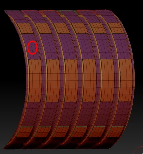 20140226_D  Create3D ZBrush4R6 machanic surface part1203 - コピー