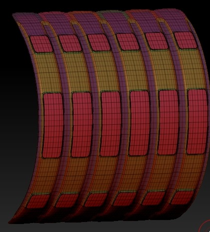 20140226_D  Create3D ZBrush4R6 machanic surface part1215