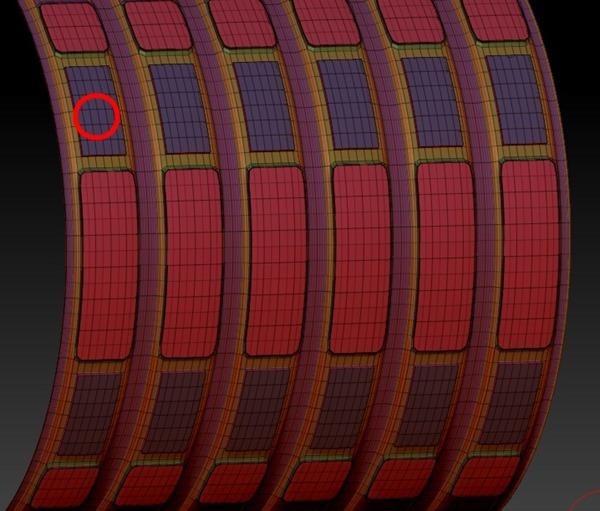 20140226_D  Create3D ZBrush4R6 machanic surface part1219 - コピー