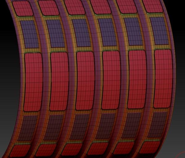 20140226_D  Create3D ZBrush4R6 machanic surface part1219