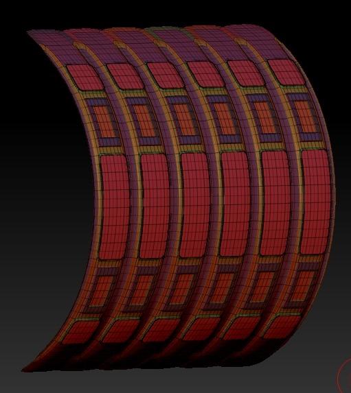 20140226_D  Create3D ZBrush4R6 machanic surface part1222
