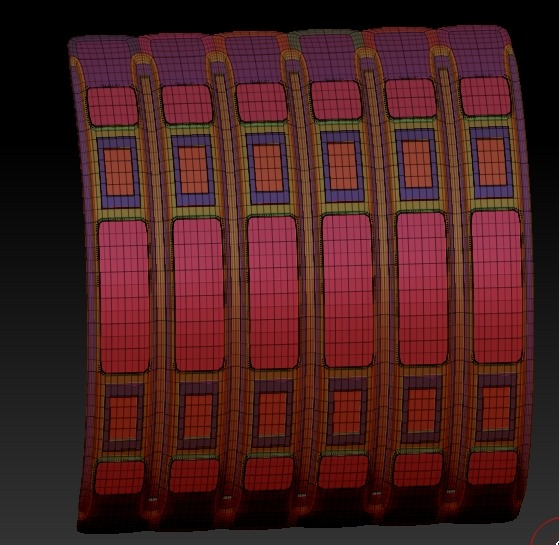 20140226_D  Create3D ZBrush4R6 machanic surface part1227