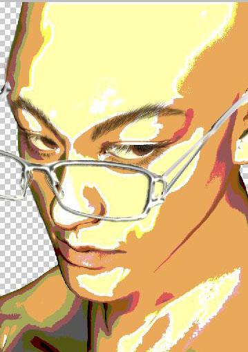 Poserの絵をフォトショップで修正する6